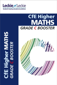 Image for CfE Higher Maths grade booster