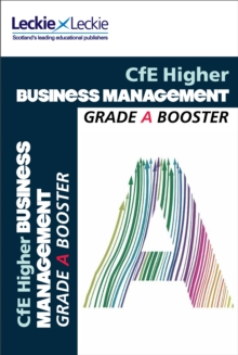 Image for CfE Higher business management grade booster