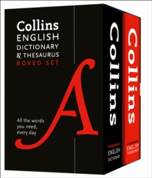 Image for Collins English paperback dictionary and thesaurus set