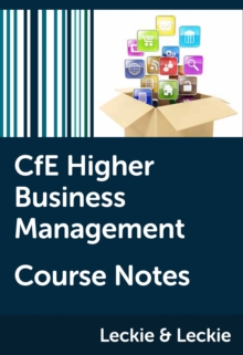CfE Higher Business Management Course Notes - Coutts, Lee