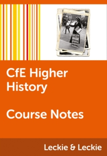CfE Higher History Course Notes - Hughes, Maxine