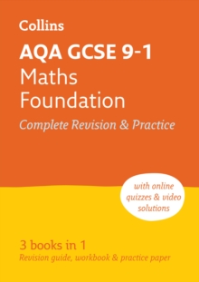 Image for AQA GCSE maths  : new 2015 curriculumFoundation tier,: All-in-one revision and practice