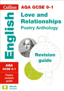 AQA GCSE poetry anthology  : new 2015 curriculum: Love and relationships - Collins GCSE