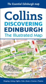 Image for Discovering Edinburgh Illustrated Map