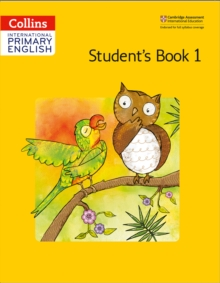 Image for Cambridge primary English: Student's book 1