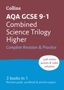 Image for AQA GCSE combined science trilogy  : all-in-one revision and practiceHigher
