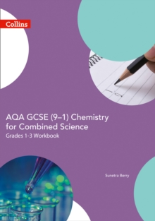 AQA GCSE (9-1) combined science for chemistry trilogyFoundation,: Support workbook