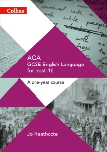 Image for AQA GCSE English language for post-16  : a one-year course
