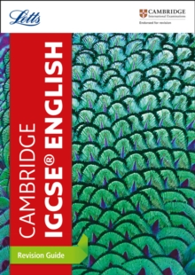 Image for Cambridge IGCSE English revision guide