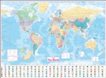 Image for Collins World Wall Laminated Map