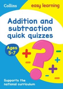 Image for Addition & subtraction quick quizzesAges 5-7