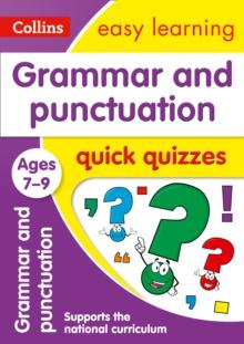 Image for Grammar & punctuation quick quizzes: Ages 7-9