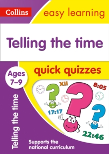 Image for Telling the time quick quizzes: Ages 7-9
