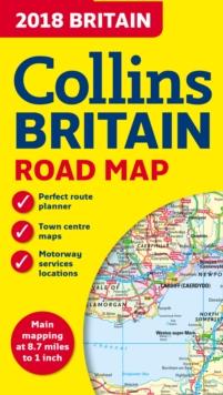 2018 Collins Britain Road Map