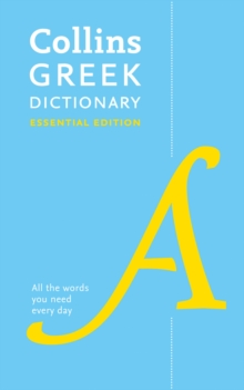 Image for Collins Greek dictionary  : essential edition
