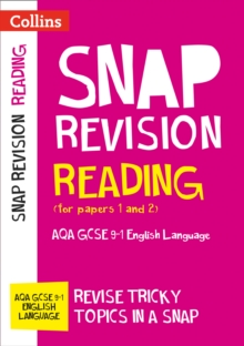 Image for Reading (for papers 1 and 2)  : AQA GCSE English language