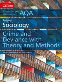 Image for AQA A level sociology crime and deviance with theory and methodsA level paper 3