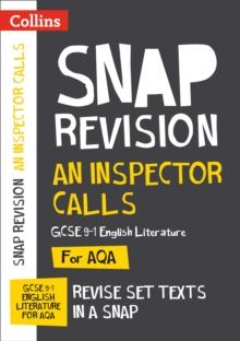 Image for An inspector calls  : AQA GCSE English literature