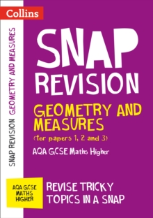 Image for Geometry and measures (for papers 1, 2 and 3)  : AQA GCSE maths higher