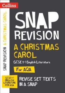 Image for A Christmas carol  : AQA GCSE English literature