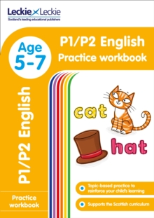 Image for P1/P2 English Practice Workbook : Extra Practice for Cfe Primary School English