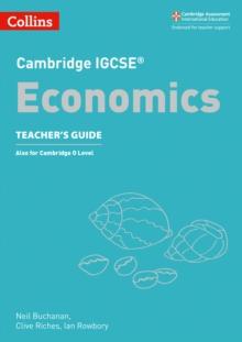 Image for Cambridge IGCSE  economics: Teacher's guide