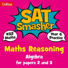 Image for Year 6 algebra  : for reasoning papers 2 and 3KS2,: Maths