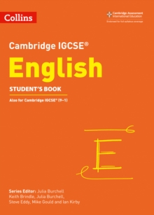 Image for Cambridge IGCSE EnglishStudent's book