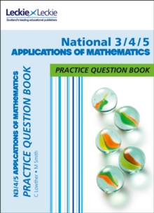 Image for N3/4/5 applications of mathematics practice question book