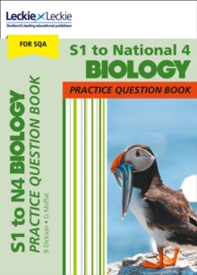 Image for S1 to National 4 biology practice question book