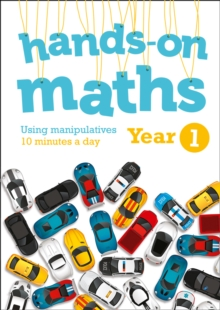 Image for Year 1 hands-on maths  : using manipulatives 10 minutes a day