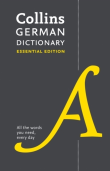 Image for Collins German dictionary essential edition  : 60,000 translations for everyday use