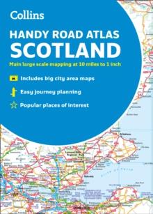2019 Collins Handy Road Atlas Scotland
