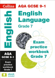 Image for AQA GCSE English language exam practice workbookGrade 7