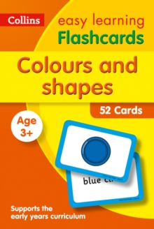 Image for Colours and Shapes Flashcards : Prepare for Preschool with Easy Home Learning