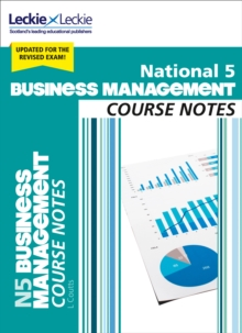 National 5 business management: Course notes - Coutts, Lee