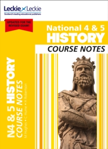 Image for National 4/5 history course notes