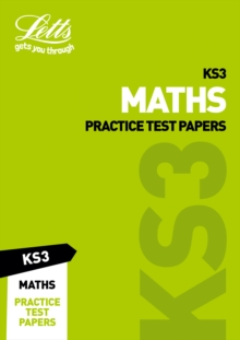 Image for Maths practice test papersKS3
