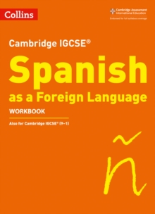 Image for Cambridge IGCSE (TM) Spanish Workbook