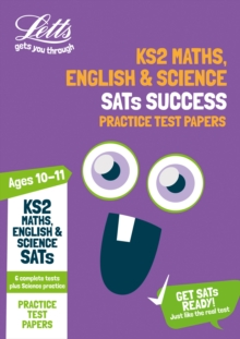 Image for KS2 Maths, English and Science SATs practice test papers  : 2018 tests