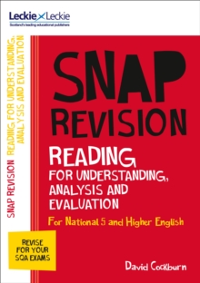 N5/Higher English: Reading for understanding, analysis and evaluation - Cockburn, David