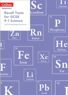 Image for Recall tests for GCSE 9-1 Science  : KS3 knowledge retrieval