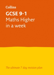 Image for GCSE 9-1 maths higher in a week