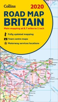 2020 Collins Road Map Britain