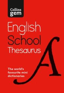 Image for Collins Gem school thesaurus