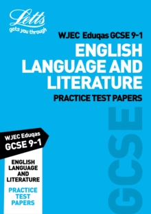 Image for WJEC Eduqas GCSE 9-1 English language and literature: Practice test papers
