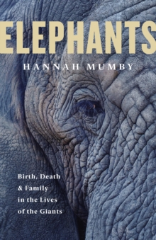 Image for Elephants  : birth, death and family in the lives of the giants