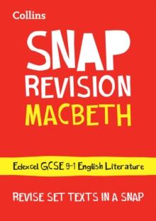 Image for Macbeth  : Edexcel GCSE 9-1 English literature text guide