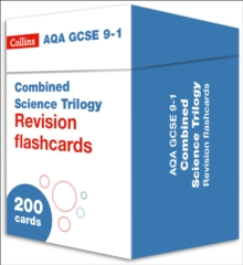 Image for AQA GCSE 9-1 Combined Science Revision Cards (Biology, Chemistry & Physics) : For the 2020 Autumn & 2021 Summer Exams