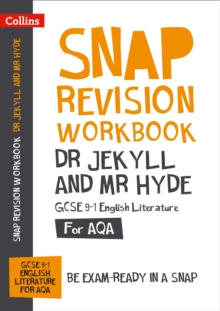 Image for Dr Jekyll and Mr Hyde  : new GCSE grade 9-1 English literature AQA: Workbook